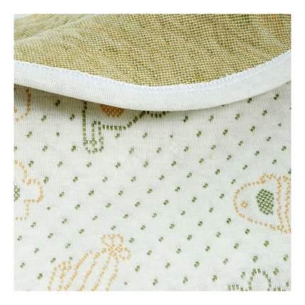 Одеяло Baby Nice трикотажное с наполнителем трехслойное Фисташка