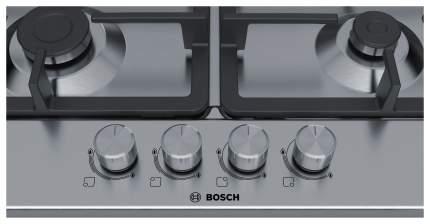 Встраиваемая варочная панель газовая Bosch PGP6B5O90R Silver
