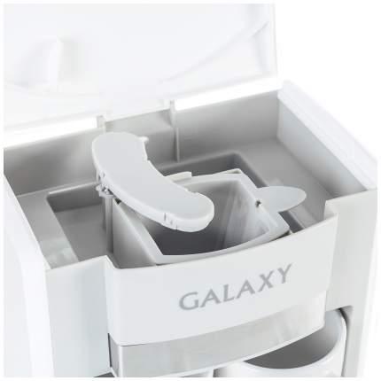 Кофеварка капельного типа Galaxy GL 0708 White