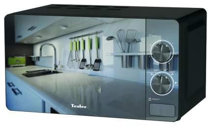 Микроволновая печь соло TESLER MM-2002 black/mirror