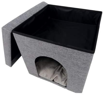 Домик для кошек Trixie Alois, размер 38×40×38см, серый