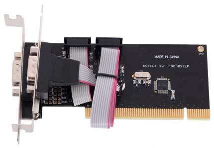 PCI-e контроллер COM ORIENT XWT-PS050V2LP, PCI to COM 2-port Low Profile WCH CH351 oem