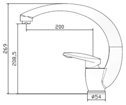 Смеситель для кухонной мойки Seaman SSN-0900 395334 хром