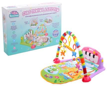 Многофункциональный развивающий коврик Elefantino Счастливое детство
