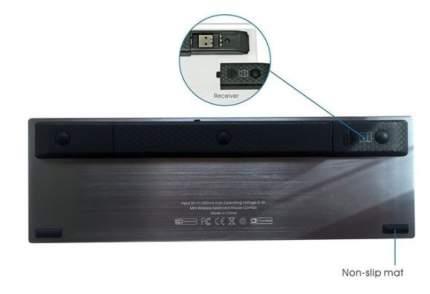 Клавиатура беспроводная Rii K12+