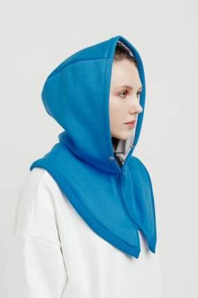 Шапка-капюшон женская UNU clothing 6130219 голубая