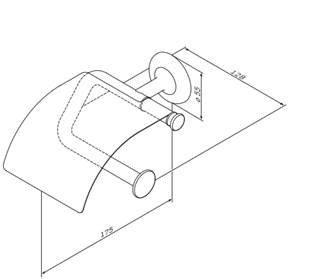 Держатель для туалетной бумаги AM.PM Like A80341500