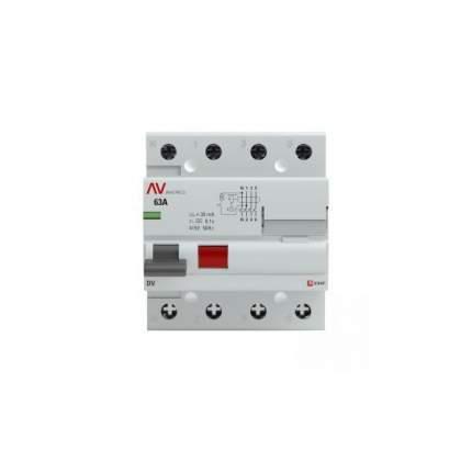 Устройство защитного отключения EKF rccb-4-25-30-a-av