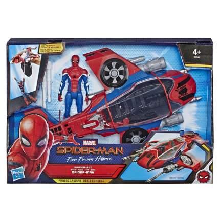Игровой набор Hasbro Spider-Man Человек-Паук и транспортное средство