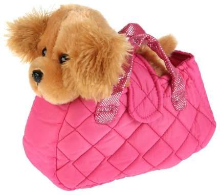 """Игрушка мягкая """"Собака Спаниель"""", в сумочке, 18 см"""