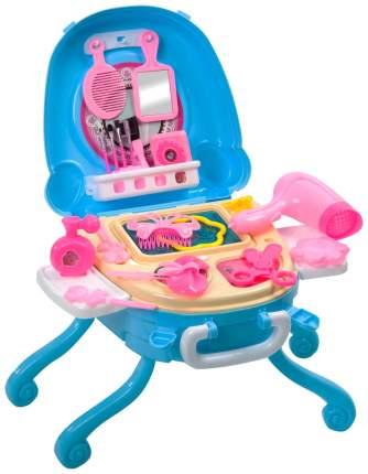Набор игровой в чемоданчике Bondibon парикмахер-визажист, 27 предметов