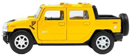 Машина металлическая Hummer H2 SUT, масштаб 1:40, открываются двери, инерция Kinsmart