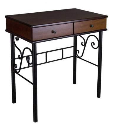Туалетный столик Мебелик 79х73х41 см, черный
