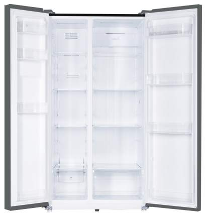 Холодильник Reex RF-SBS 17557 DNF IBGL Black
