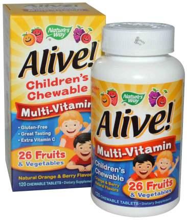 Витаминный комплекс Nature's Way Alive! 120 табл.