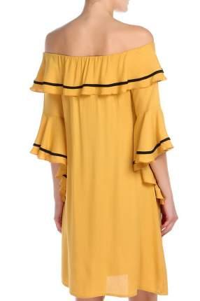 Платье женское МадаМ Т коричневое 54