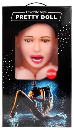 Надувная секс-кукла Bior toys Виктория с вибрацией