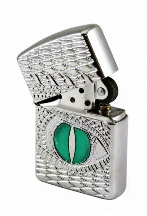 Бензиновая зажигалка Zippo Armor Dragon Eye High Polish Chrome