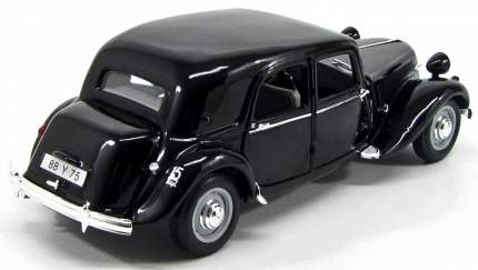 Машинка Maisto 1:18 Citroen 15CV 6 Cyl 1952 года, черная