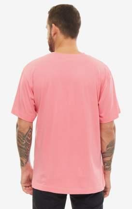 Футболка мужская Cheap Monday 707546 розовая/черная/белая XS
