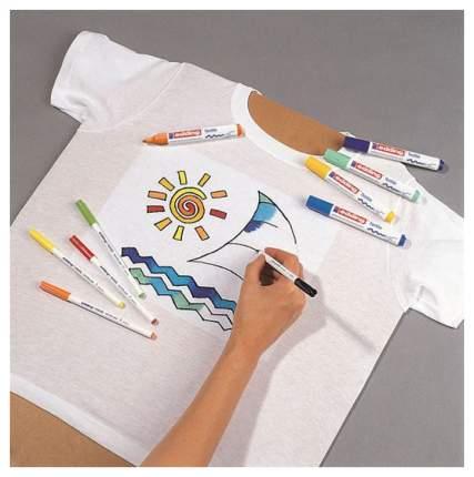 Набор маркеров текстильных, круглый наконечник, 1мм, 10 цветов в наборе