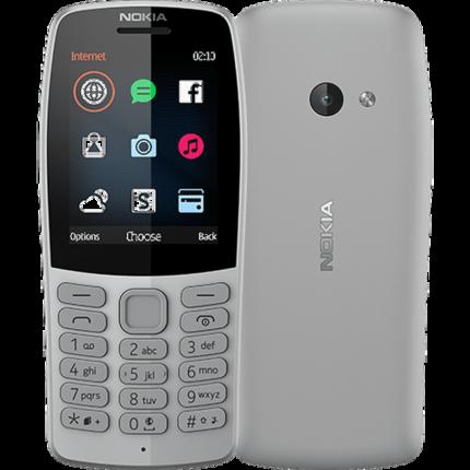 Мобильный телефон Nokia 210 Dual Sim Grey