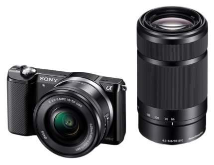 Фотоаппарат системный Sony Alpha A5000 Kit 16-50/55-210 Black
