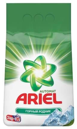 Порошок для стирки Ariel горный родник 3 кг