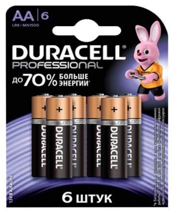 Батарейка Duracell Professional LR6-6BL 6 шт