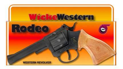 Пистолет игрушечный Rodeo 100-зарядные Gun, Western 198mm, упаковка-короб