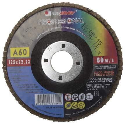 Диск лепестковый для угловых шлифмашин ЛУГА 3656-125-25