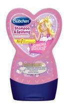 """Шампунь и ополаскиватель для волос bubchen """"принцесса розалея"""", 230 мл"""