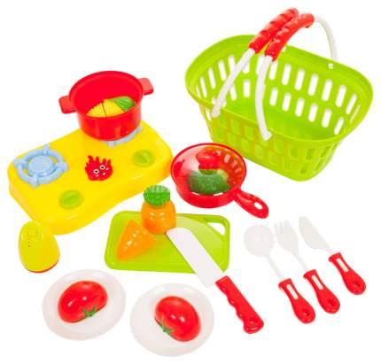 Набор продуктов игрушечный ABtoys Помогаю маме на липучках 23 предмета PT-00472