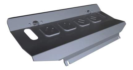 Защита радиатора RIVAL для Mitsubishi (333.4046.1)
