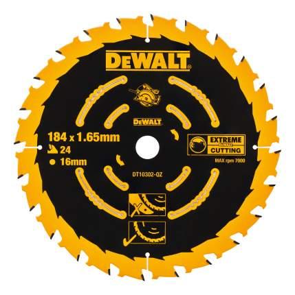 Диск по дереву для дисковых пил DeWALT DT10302-QZ