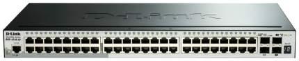 Коммутатор D-Link SmartPro DGS-1510-52/A1A Серый, черный