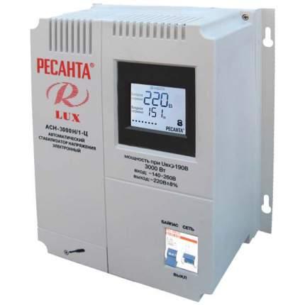Однофазный стабилизатор Ресанта АСН-3000Н/1-Ц