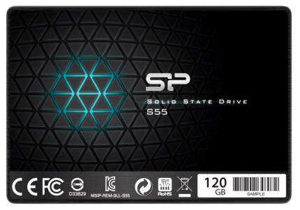 Внутренний SSD накопитель Silicon Power Slim 120GB (SP120GBSS3S55S25)