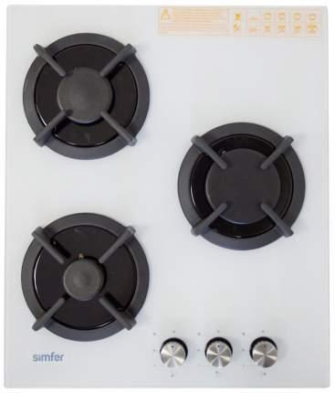 Встраиваемая варочная панель газовая Simfer H45N30W501 White