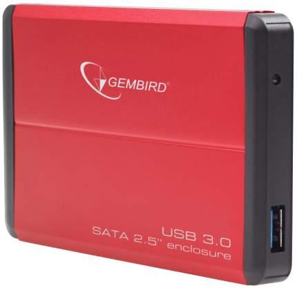 Внешний карман (контейнер) для HDD Gembird EE2-U3S-2-R Red
