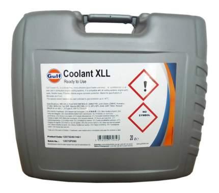 Антифриз GULF GULF COOLANT XLL G12+ зеленый 20л