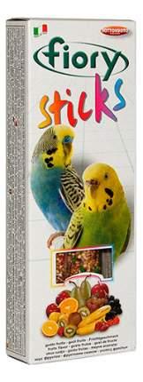 Лакомства для птиц fiory палочки для попугаев с фруктами, 60г