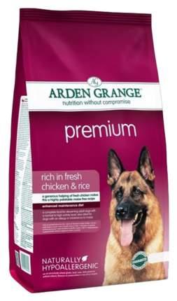 Сухой корм для собак Arden Grange Premium, курица,  12кг