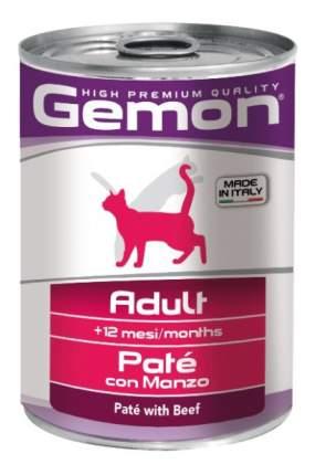 Консервы для кошек Gemon, говядина, 24шт, 400г