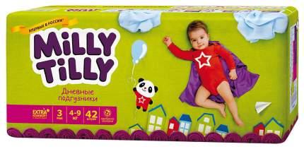 Подгузники Milly Tilly Midi 3 (4-9 кг), 42 шт.
