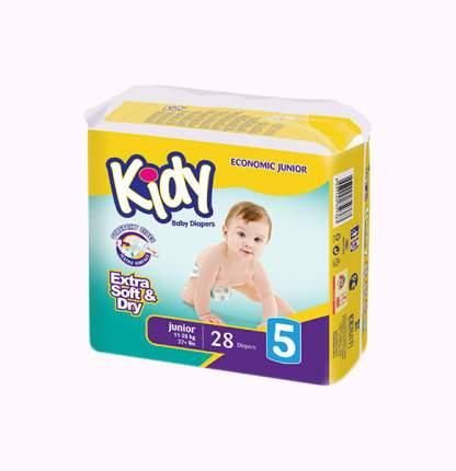 Подгузники Kidy Extra Soft Junior 5 (11-25 кг), 28 шт.