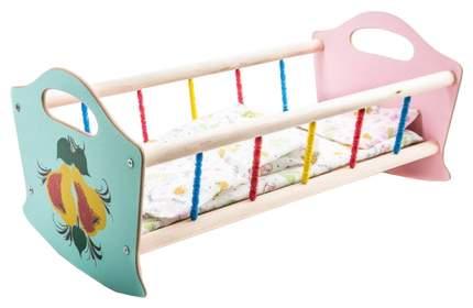 Деревянная Кроватка для Кукол Большая, 52 См