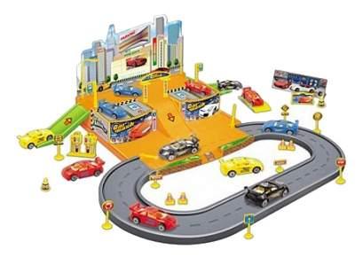Парковка игрушечная Рыжий Кот Торговый центр