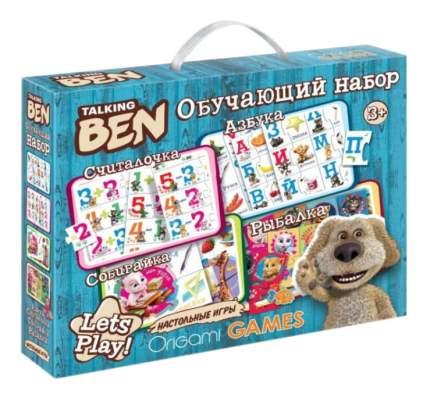 Семейная настольная игра Origami Talking Ben Обучающий набор