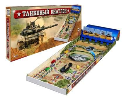 Семейная настольная игра Омский завод электротоваров Танковый биатлон ОМ-48308